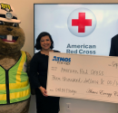 Atmos Energy Donates More Than $3,000 to the American Red Cross in Support of Safety