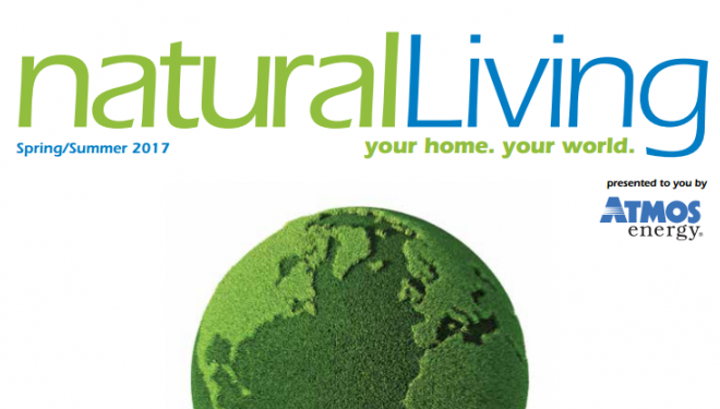 Cover of Natural Gas Living magazine